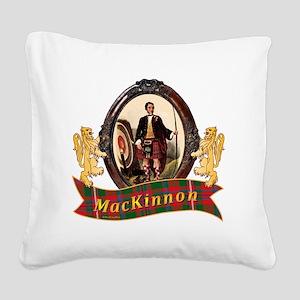 MacKinnon Clan Square Canvas Pillow