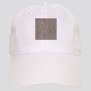 Taupe Brown Gray Sparkle Glitter Shiny Pattern Bas