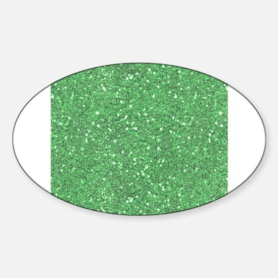 Green Sparkle Glitter Shiny Pattern Decal