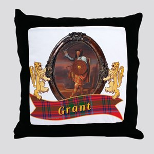 Grant Clan Throw Pillow