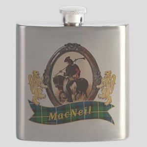 MacNeil Clan Flask