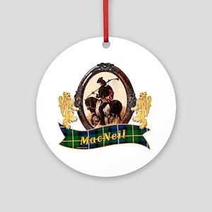 MacNeil Clan Round Ornament