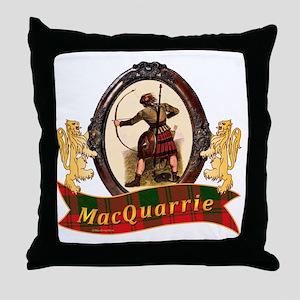 MacQuarrie Clan Throw Pillow
