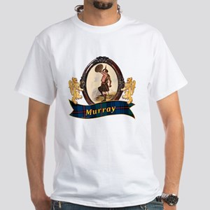 Murray Clan White T-Shirt
