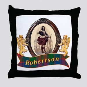 Robertson Clan Throw Pillow
