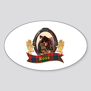 Ross Clan Sticker (Oval)