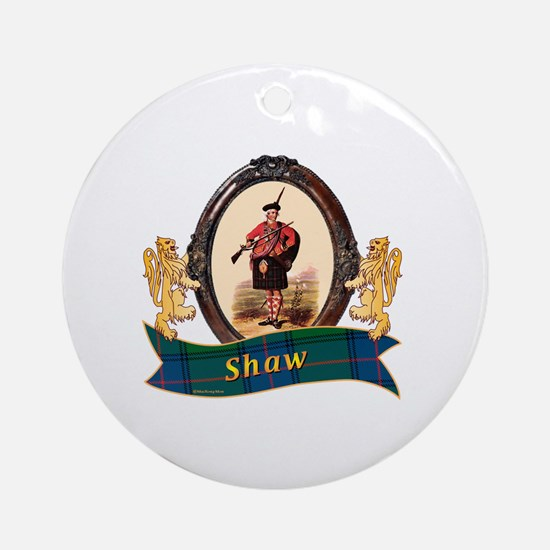 Shaw Clan Round Ornament