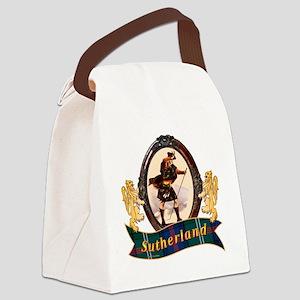 Sutherland Clan Canvas Lunch Bag