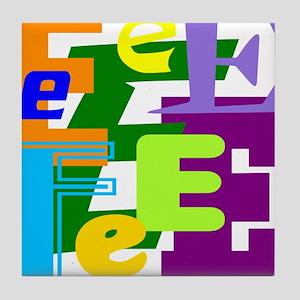 Initial Design (E) Tile Coaster