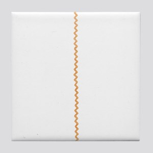 Yellow Gold Abstract Zigzag Ribbon Stripes Tile Co