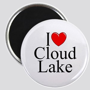 """I Love Cloud Lake"" Magnet"