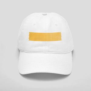 Yellow Washi Tape Strip Baseball Cap