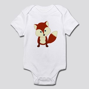 Cute Woodland Red Fox Body Suit