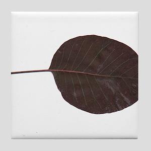 Autumn Leaf Tile Coaster