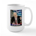 Go FOX Yourself Large Mug