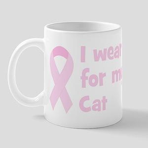 Friend Cat (wear pink) Mug