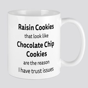 Raisin Cookies that look like Chocolate Chip Cooki