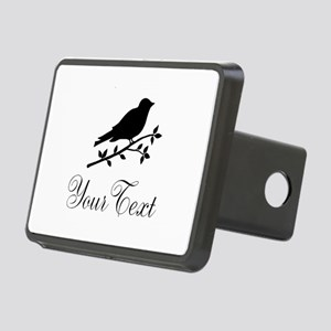Personalizable Bird Silhouette Hitch Cover