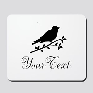 Personalizable Bird Silhouette Mousepad