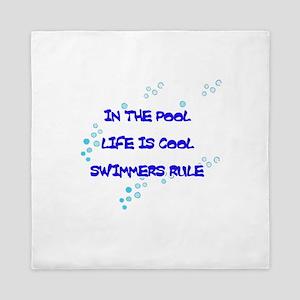 Life Is Cool Queen Duvet