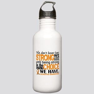 Leukemia HowStrongWeAr Stainless Water Bottle 1.0L