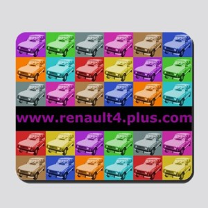 Renault 4-Play Mouse Mat