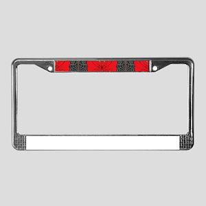Art Nouveau License Plate Frame