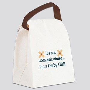 Not Domestic Abuse Canvas Lunch Bag