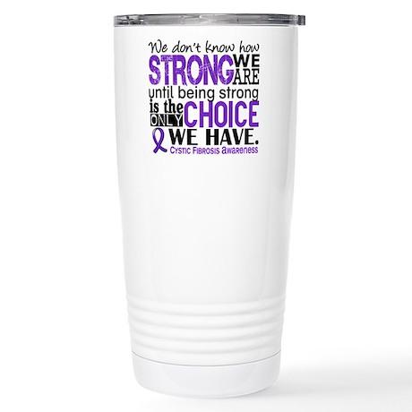 CF HowStrongWeAre Stainless Steel Travel Mug