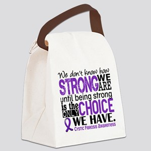 CF HowStrongWeAre Canvas Lunch Bag
