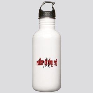 Roller Derby Ref Stainless Water Bottle 1.0L