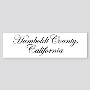 Hillbilly Deluxe Humboldt Bumper Sticker