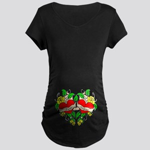 Twin Sisters Maternity Dark T-Shirt