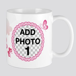 CUSTOMIZE Add 2 Photos Mugs