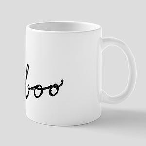 Boo Cat for Halloween Mugs