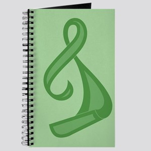 """Green Ribbon Twist"" Journal"