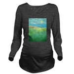 I Can See The Beach Long Sleeve Maternity T-Shirt