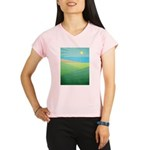 I Can See The Beach Performance Dry T-Shirt