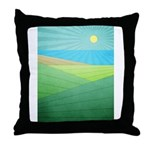 I Can See The Beach Throw Pillow