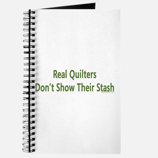 Quilter Dont Show Stash Journal