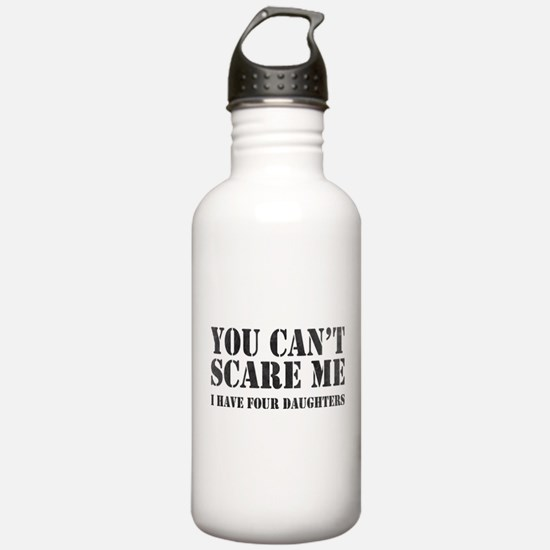 You Can't Scare Me Water Bottle