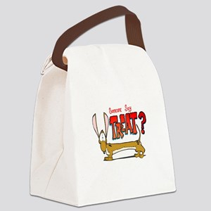Doxy Treat Canvas Lunch Bag