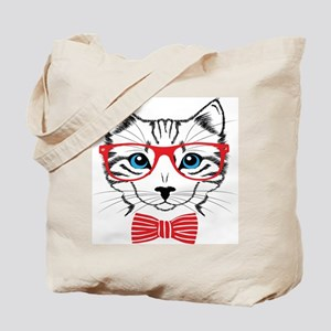 Stylish Cat Tote Bag