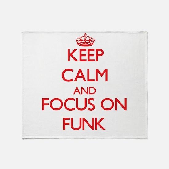 Unique Funk Throw Blanket