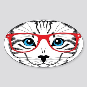 Stylish Cat Sticker