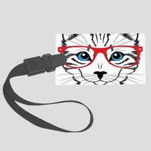 Stylish Cat Luggage Tag