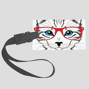 Stylish Cat Luggage Tag