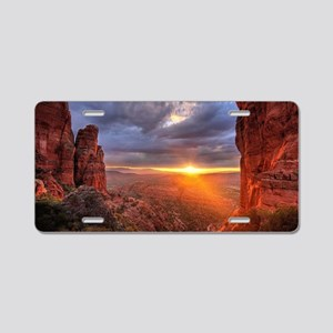 Grand Canyon Sunset Aluminum License Plate