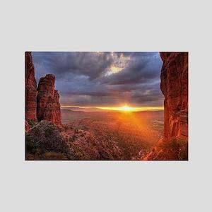 Grand Canyon Sunset Rectangle Magnet