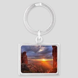 Grand Canyon Sunset Landscape Keychain